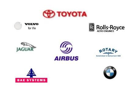lean manufacturing consultants client logo\'s